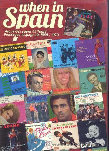 CATALOGO DE EP 'S DE MUSICA FRANCESA EDITADOS EN ESPAÑA - JOHNNY HALLYDAY SYLVIE VARTAN ADAMO DALIDA (Música - Catálogos de Música, Libros y Cancioneros)