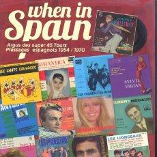 Catálogos de Música: CATALOGO DE EP 'S DE MUSICA FRANCESA EDITADOS EN ESPAÑA - JOHNNY HALLYDAY SYLVIE VARTAN ADAMO DALIDA. Lote 54349581