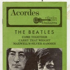 Catálogos de Música: ACORDES / THE BEATLES . Lote 31822872