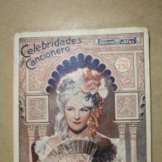 Catálogos de Música: CELEBRIDADES DEL CANCIONERO - IMPERIO ARGENTINA - EDITORIAL ALAS NUMERO 4. Lote 31891561