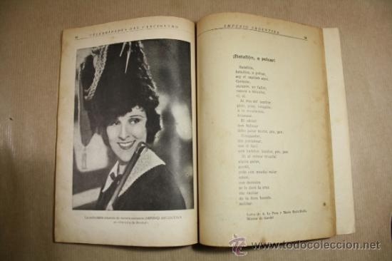 Catálogos de Música: Celebridades del Cancionero - Imperio Argentina - Editorial Alas Numero 4 - Foto 2 - 31891561