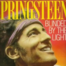 Catálogos de Música: B. SPRINGSTEEN - BLINDED BY THE LIGHT - BIOGRAFIA EN INGLÉS - P. HUMPHRIES - PLEXUS - LONDON 1985. Lote 33029828