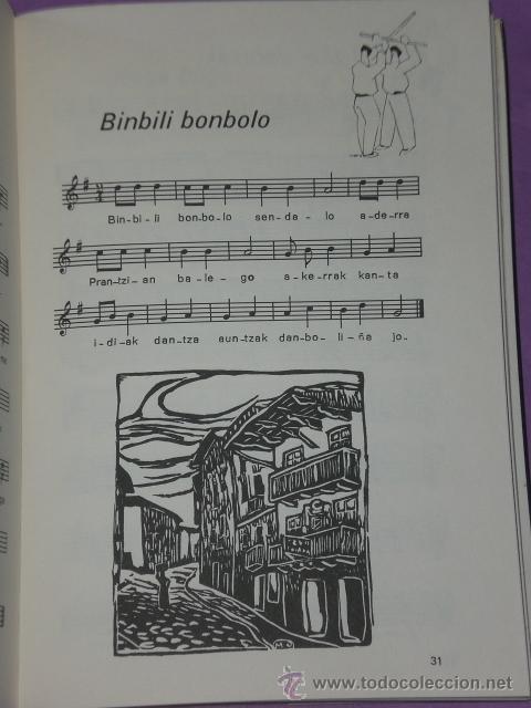 Catálogos de Música: CIEN PIEZAS VASCAS PARA FLAUTA DULCE. - Foto 3 - 33139597