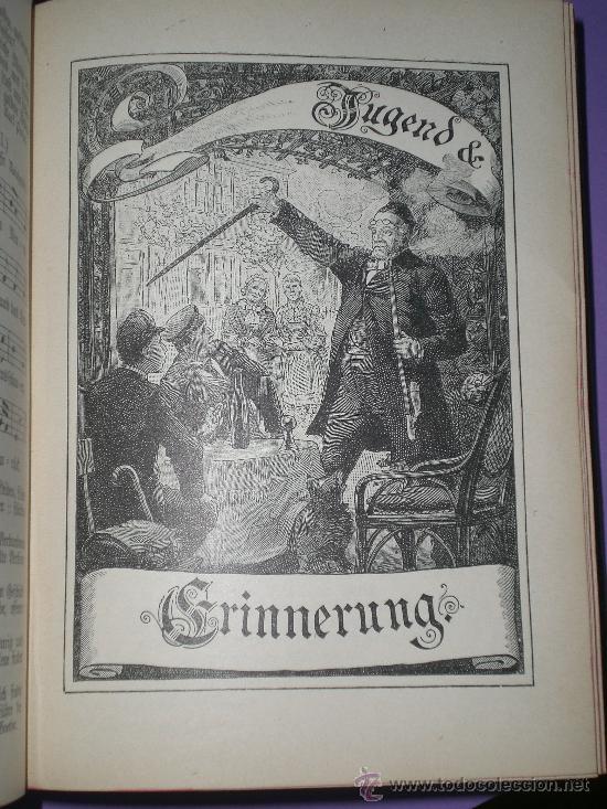 Catálogos de Música: Schauenburgs Allgemeines Deutsches Kommersbuch - auf dem Deckel: Gaudeamus igitur Juvenes dum sumus! - Foto 7 - 33355343