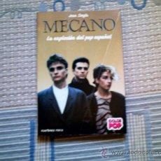Catálogos de Música: MECANO. LA EXPLOSION DEL POP ESPAÑOL, DE JOAN SINGLA (MARTINEZ ROCA). Lote 33397727