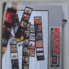Catálogos de Música - CATALOGO DEL SELLO DEMON RECORDS DEL AÑO 1998 - 34271411