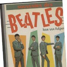 Catálogos de Música: LIBRO SOUVENIRS DES BEATLES // 183 PAGINAS CON FOTOS . Lote 34299545