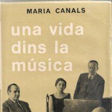 Catálogos de Música: UNA VIDA DINS LA MUSICA / M. CANALS. BCN : SELECTA, 1970. 18X12CM. 284 P. TELA ED.. Lote 34496404