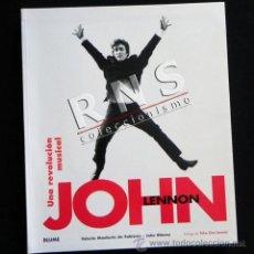 Catálogos de Música: JOHN LENNON UNA REVOLUCIÓN MUSICAL LIBRO MÚSICA FOTOS LOS THE BEATLES - ROCK AÑOS 60 70 ÍDOLO BLUME. Lote 34656591