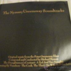 Catálogos de Música: THE NYMAN GREENAWAY SOUNDTRACKS LIBRILLO DE RECOPILACION DISCOS. Lote 34688957