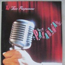 Catálogos de Música: THE PASADENAS - TOUR PROGRAMME 1988. Lote 35387022
