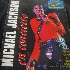 Catálogos de Música: MICHAEL JACKSON- EN CONCIERTO-REVISTA DEDICADA AL CONCIERTO QUE MICHAEL JACKSON DARA EN ESPAÑA 1988. Lote 35579882