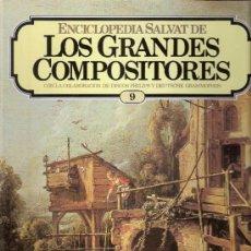 Catálogos de Música: ENCICLOPEDIA SALVAT.LOS GRANDES COMPOSITORES.SALVAT.PHILIS.FASCICULO Y CASETE Nº 9.SCHUBERT.. Lote 35874395