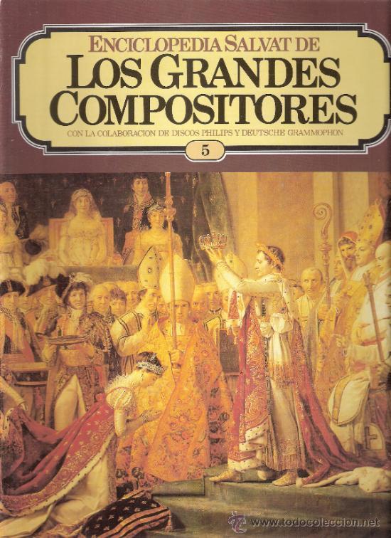 ENCICLOPEDIA SALVAT.LOS GRANDES COMPOSITORES.SALVAT.PHILIS.FASCICULO Y CASETE Nº 5. BEETHOVEN. (Música - Catálogos de Música, Libros y Cancioneros)