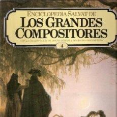 Catálogos de Música: ENCICLOPEDIA SALVAT.LOS GRANDES COMPOSITORES.SALVAT.PHILIS.FASCICULO Y CASETE Nº 4. BEETHOVEN.. Lote 35874638