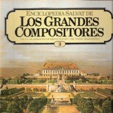 Catálogos de Música: ENCICLOPEDIA SALVAT.LOS GRANDES COMPOSITORES.SALVAT.PHILIS.FASCICULO Y CASETE Nº 3. BEETHOVEN.. Lote 35874653