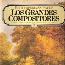 Catálogos de Música: ENCICLOPEDIA SALVAT.LOS GRANDES COMPOSITORES.SALVAT.PHILIS.FASCICULO Y CASETE Nº 2. BEETHOVEN.. Lote 35874726