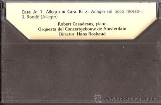 Catálogos de Música: Enciclopedia Salvat.Los Grandes Compositores.Salvat.Philis.Fasciculo y Casete Nº 5. Beethoven. - Foto 4 - 35874618