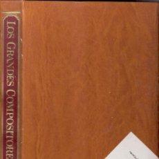 Catálogos de Música: TAPAS, PORTADA. ENCICLOPEDIA DE LOS GRANDES COMPOSITORES. SALVAT EDICIONES. TOMO 2.. Lote 35960894