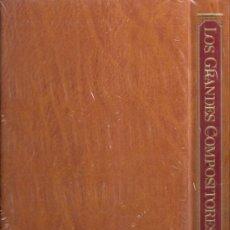 Catálogos de Música: TAPAS, PORTADA. ENCICLOPEDIA DE LOS GRANDES COMPOSITORES. SALVAT EDICIONES. TOMO 1.. Lote 35960907