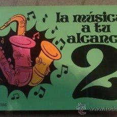 Catálogos de Música: LA MUSICA A TU ALCANCE 2 HECTOR CABEZAS GONZALEZ EDICIONES PAULINAS 1978. Lote 35931278