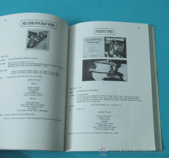 Catálogos de Música: NEIL YOUNG: A COMPLETE ILLUSTRATED BOOTLEG DISCOGRAPHY. BRUNO FISSON / ALAN JENKINS - Foto 3 - 35939336