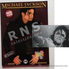 Catálogos de Música: MICHAEL JACKSON OJOS DE CIERVO ...- CANTANTE EEUU MÚSICA POP ROCK FOTOS LIBRO MÁSCARA -NO PÓSTER. Lote 36043948