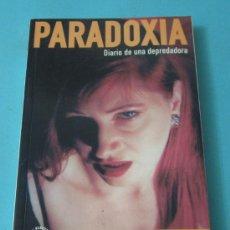 Catálogos de Música: PARADOXIA. DIARIO DE UNA DEPREDADORA. LYDIA LUNCH. Lote 36305313