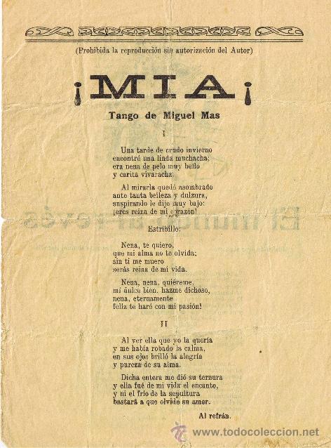 CANCIONERO DE 4 PÁGINAS - VER CANCIONES EN DESCRIPCIÓN (Música - Catálogos de Música, Libros y Cancioneros)