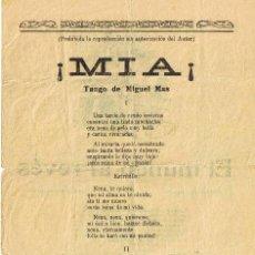 Catálogos de Música: CANCIONERO DE 4 PÁGINAS - VER CANCIONES EN DESCRIPCIÓN. Lote 37022800