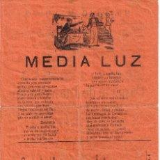 Catálogos de Música: CANCIONERO DE 4 PÁGINAS - VER CANCIONES EN DESCRIPCIÓN - IMPRENTA INGLESA - BARCELONA. Lote 37023090