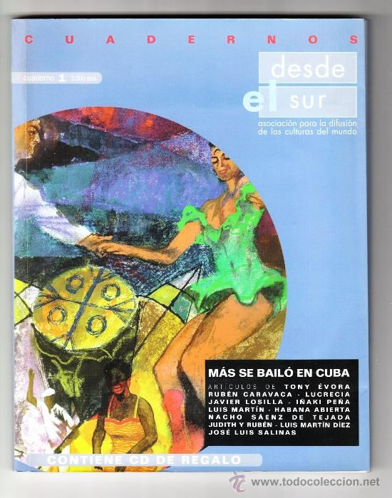 MÁS SE BAILÓ EN CUBA ZARAGOZA DESDE EL SUR 1998 (Música - Catálogos de Música, Libros y Cancioneros)