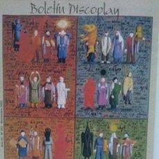 Cataloghi di Musica: CATALOGO DISCOPLAY NOVIEMBRE 2002. Lote 37091950
