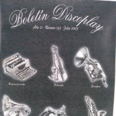 Catálogos de Música: CATALOGO DISCOPLAY JULIO 2003. Lote 37097602