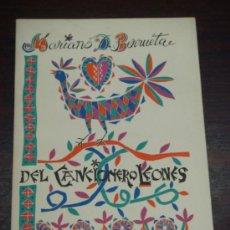 Catálogos de Música: DEL CANCIONERO LEONÉS. 1971. 2ª EDICIÓN. . Lote 37344213