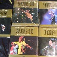 Catálogos de Música: CANCIONES DE ORO-5 TOMOS -EDIT PLANETA MASDE 1400 PAGS, MILES DE FOTOS. Lote 37548397