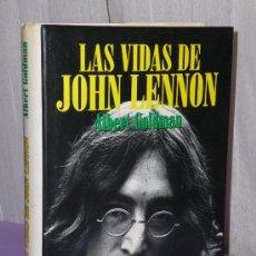Catálogos de Música: LAS VIDAS DE JOHN LENNON.. Lote 37402460