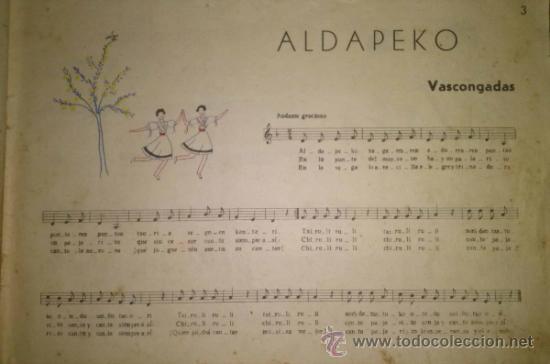 Catálogos de Música: RARISIMO CANCIONERO POPULAR DE LA FALANGE AÑOS 40 - Foto 4 - 37592842