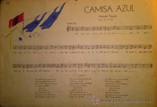 Catálogos de Música: RARISIMO CANCIONERO POPULAR DE LA FALANGE AÑOS 40 - Foto 6 - 37592842