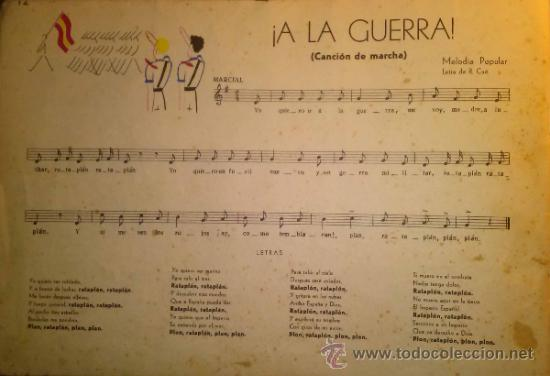 Catálogos de Música: RARISIMO CANCIONERO POPULAR DE LA FALANGE AÑOS 40 - Foto 5 - 37592842