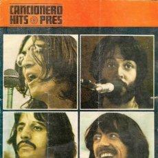 Catálogos de Música: THE BEATLES - CANCIONERO - HITS PRES - VINTAGE. Lote 38113665