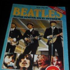 Catálogos de Música: SUPLEMENTO DE LA REVISTA GREASE. POSTER DE LOS BEATLES.. Lote 38187506