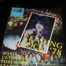 Catálogos de Música: POPULAR 1. REVISTA DE MUSICA. READING ROCK 78. COLECCION POPULAR 1. CONCIERTO 10. Lote 38187637