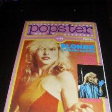 Catálogos de Música: POPSTER Nº 34. BLONDIE. REVISTA DE MUSICA. 1979 . Lote 38189424