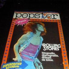 Catálogos de Música: POPSTER Nº 23. ROLLING STONES. REVISTA DE MUSICA. 1978. Lote 38189495