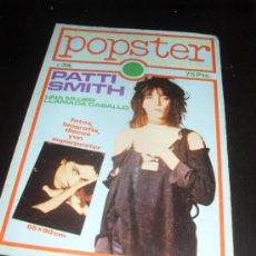 Catálogos de Música: POPSTER Nº 36. PATTI SMITH. REVISTA DE MUSICA. 1980. Lote 38189861