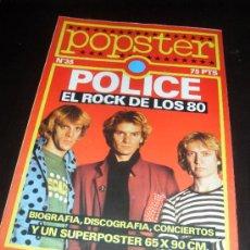 Catálogos de Música: POPSTER Nº 35. POLICE. REVISTA DE MUSICA. 1980. Lote 38189980