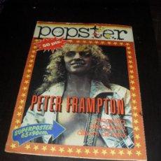 Catálogos de Música: POPSTER Nº 25. PETER FRAMPTON. REVISTA DE MUSICA. 1978. Lote 38190148