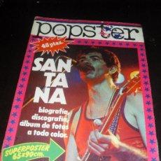 Catálogos de Música: POPSTER Nº 22. SANTANA. REVISTA DE MUSICA. 1978. Lote 38190240