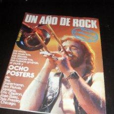 Catálogos de Música: VIBRACIONES. ESPECIAL ANUARIO 77. UN AÑO DE ROCK. REVISTA DE MUSICA. 1974.. Lote 38190776